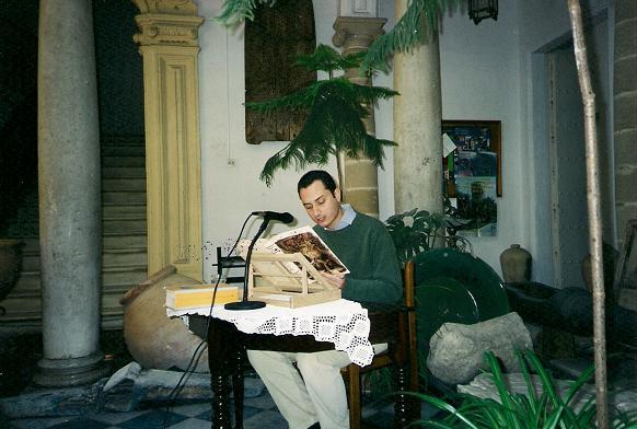 Día del Libro, Lectura continuada de El Quijote, sede Academia, Sr. Osborne Fdez-Peñaranda,21042